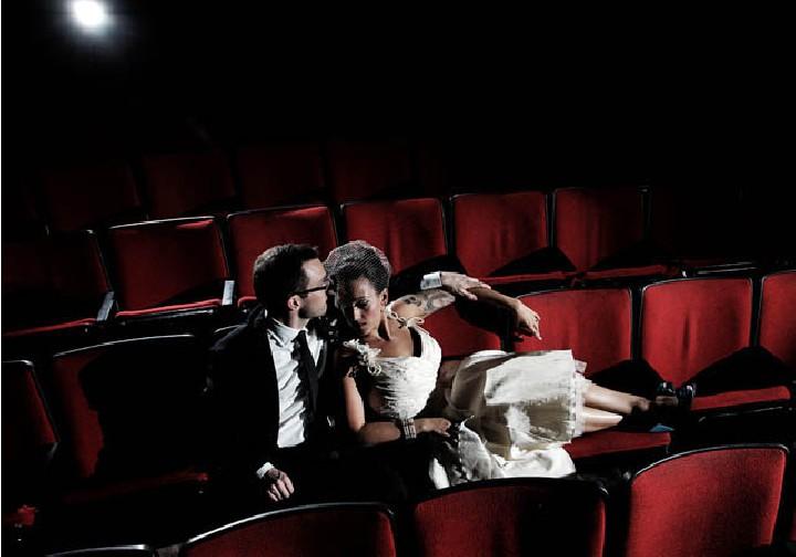 Секс в зале кинотеатра