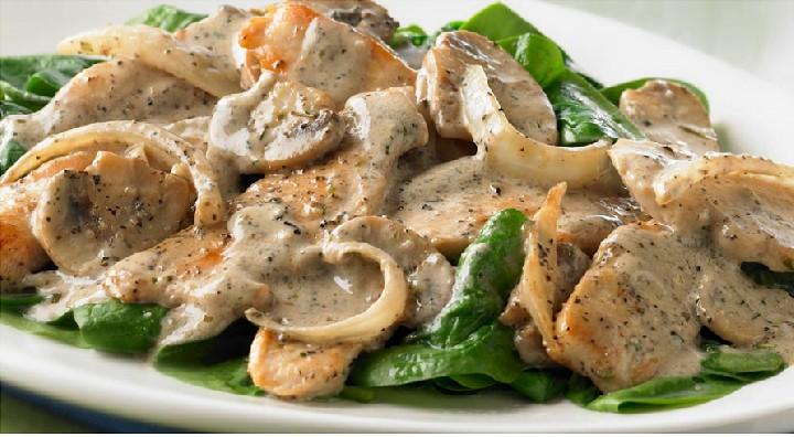 Салат курица с грибами и картофелем рецепт с