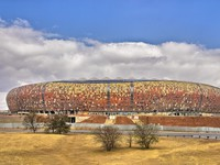 Soccer City Stadium, 2010 World Cup Venue, Johannesburg. Фото XIvanoff - Depositphotos