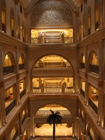 ОАЭ. Абу-Даби. Emirates Palace. Фото Александра Синицына