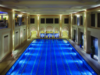 ОАЭ. Дубай. Madinat Jumeirah. The Quay Health club Lap Swimming Pool