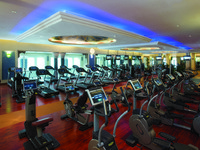 ОАЭ. Дубай. Madinat Jumeirah. The Quay Healthclub Gymnasium