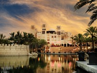 ОАЭ. Дубай. Madinat Jumeirah. Фото hitdelight - Depositphotos