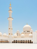 ОАЭ. Абу-Даби. Sheikh Zayed mosque. Фото Fine Shine - shutterstock