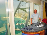 ОАЭ. Дубай. Burj Al Arab. Deluxe suite 1-bedroom