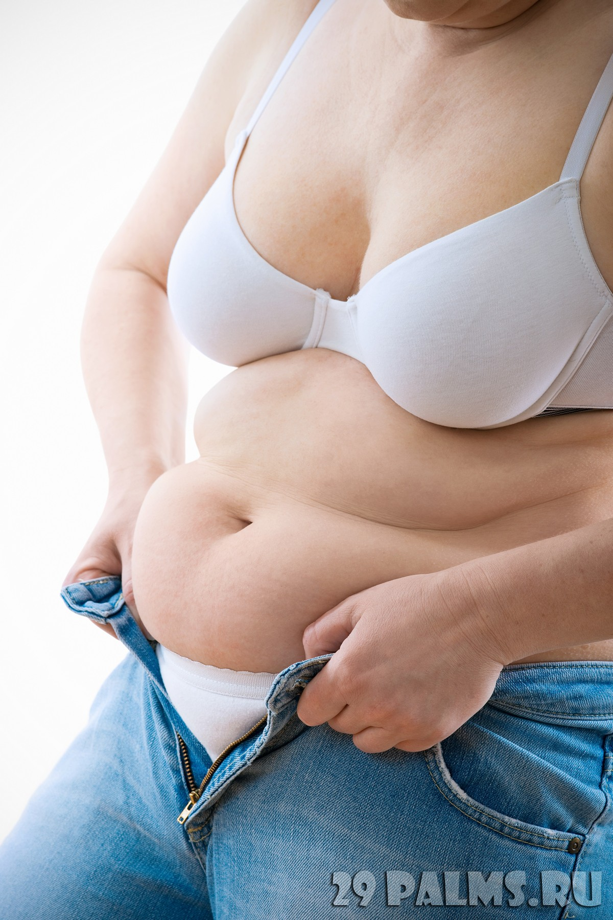 убрать жир живота бедер быстро