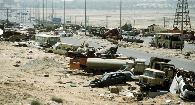 Блог Павла Аксенова. Буря в пустыне. Война с Ираком. Операция в Персидском заливе