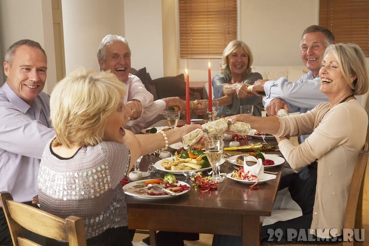 Конкурсы и развлечения сидя за столом