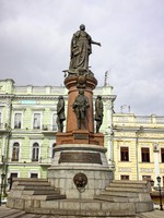 Блог Павла Аксенова. СССР. Украина. Одесса. Monument to Empress Catherine the Great in Odessa. Фото katatonia82 - Depositphotos