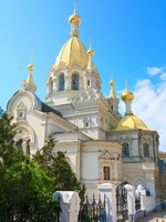 Крым. Pokrovskij Cathedral in Sevastopol (Crimea). Фото wildman - Depositphotos