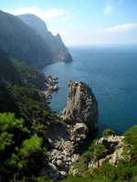 Крым. Beautiful coast of Crimea. Фото Pipenko - Depositphotos