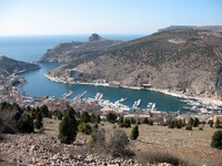 Крым. Bay of Balaklava, Crimea. Фото NEFORMAL - Depositphotos
