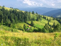 Блог Павла Аксенова. Ностальгия. Украина. Mountains landscape in Carpathians, Ukraine. Фото katatonia82 - Depositphotos