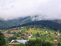 Блог Павла Аксенова. Ностальгия. Украина. Vorokhta village in Carpathian mountains, Ukraine. Фото katatonia82 - Depositphotos