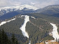 Блог Павла Аксенова. Ностальгия. Украина. Bukovel Ski Resort, Carpathians, Ukraine. Фото katatonia82 - Depositphotos