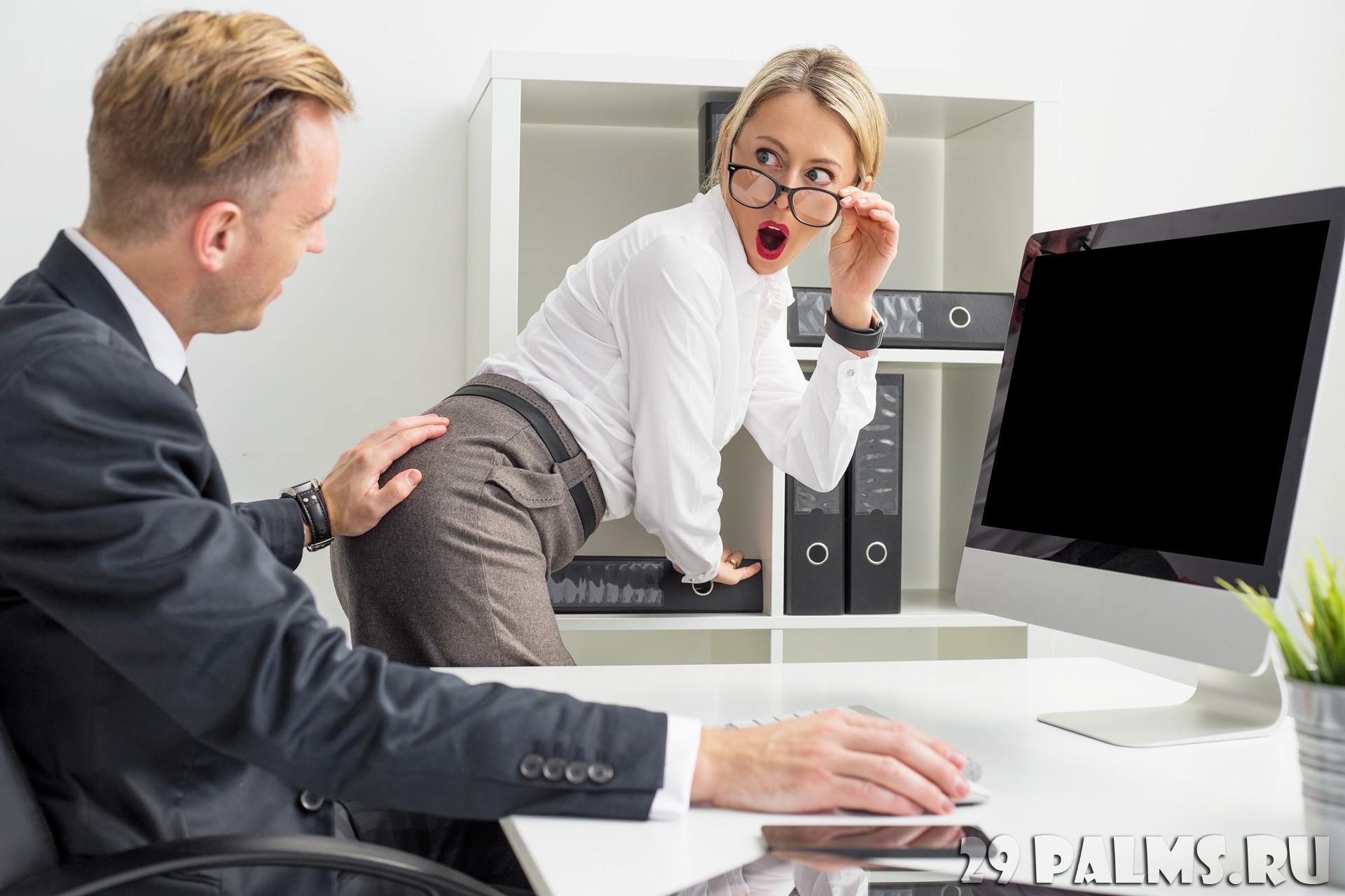 Секс секретарши шефа