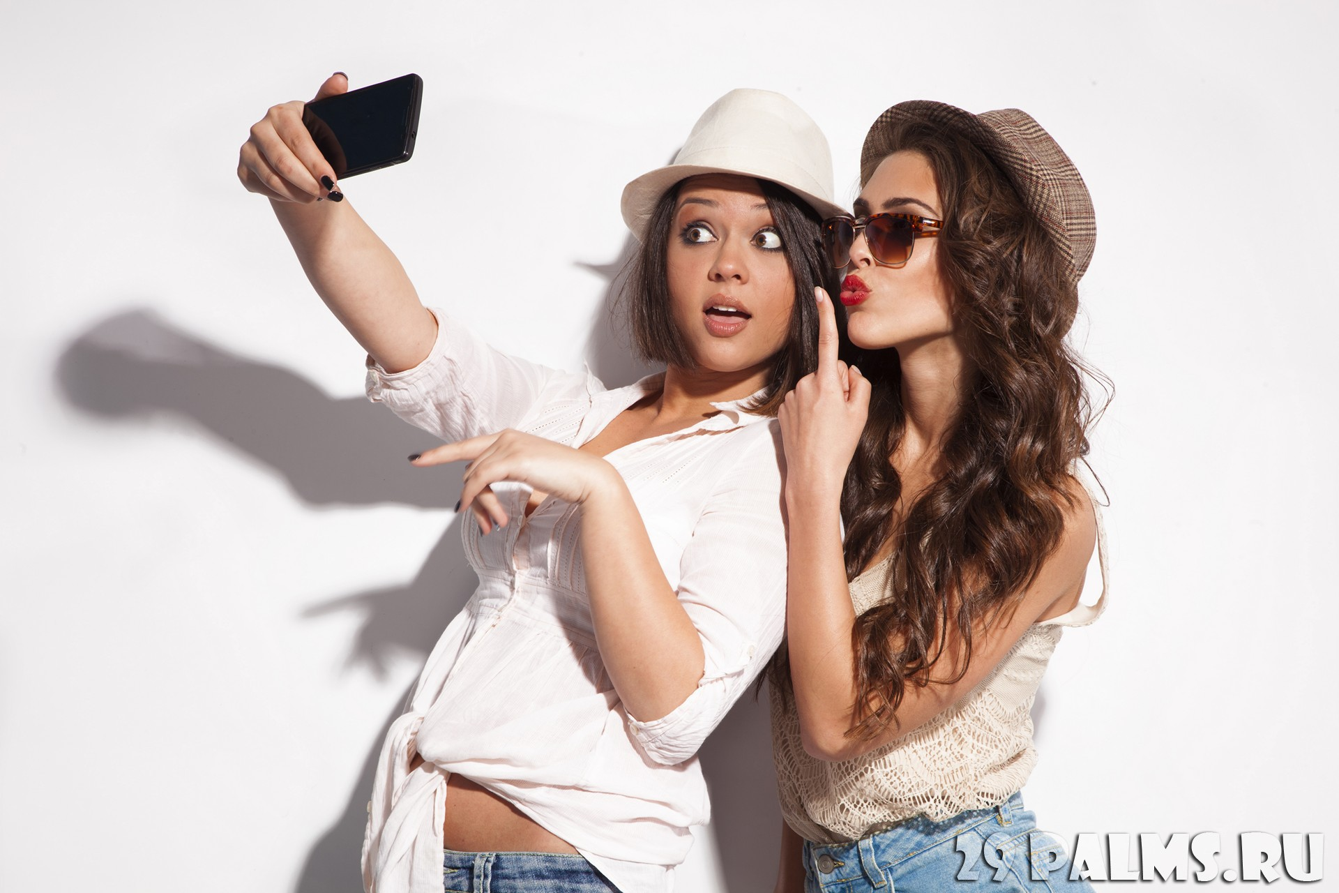 Фотосессия двух девушек 6 фотография