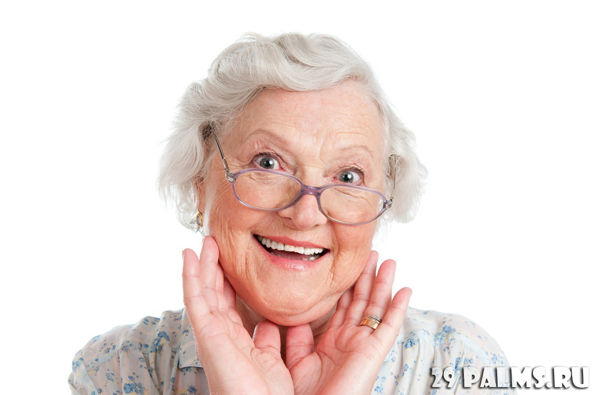 Бабка в очках 26 фотография