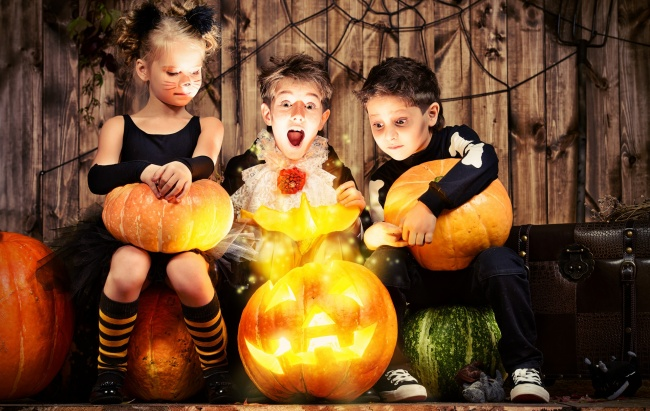 Блог Павла Аксенова. 31 октября – Хеллоуин. День всех святых. Фото prometeus - Depositphotos