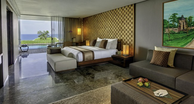 Блог Павла Аксенова. Индонезия. О.Бали. Anantara Bali Uluwatu Resort & Spa. Ocean View Pool Suite
