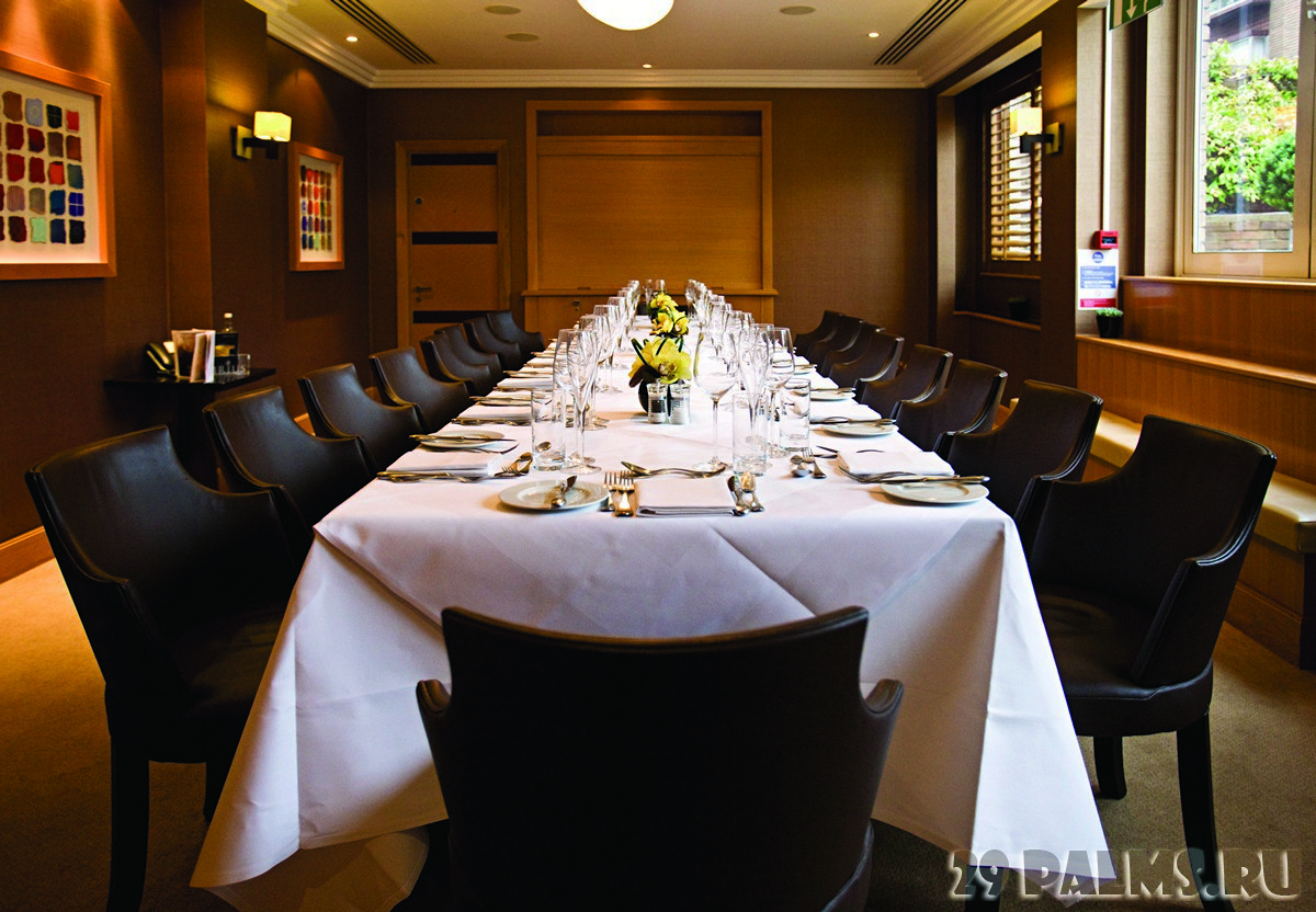Best private dining rooms in london