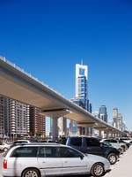 ОАЭ. Дубаи. Sheik Zayed Road. Фото Sophie_James - Depositphotos