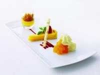 Jumeirah Emirates Towers - Alta Badia - Deliza al Limone e Mela Verde - Lemon three ways with green apple