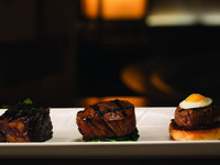 Jumeirah Emirates Towers - The Rib Room - Trio of Wagyu Beef
