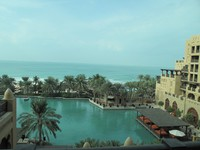 ОАЭ. Дубаи. Madinat Jumeirah. Mina A'Salam Hotel. Ocean Deluxe Room
