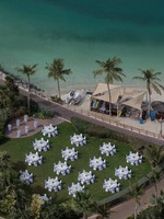 Блог Павла Аксенова. ОАЭ. Дубай. Jumeirah Beach Hotel. Aerial View Closeup