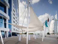 Блог Павла Аксенова. ОАЭ. Дубай. Jumeirah Beach Hotel - Sundeck - Events Area