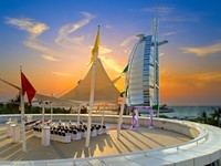 Блог Павла Аксенова. ОАЭ. Дубай. Jumeirah Beach Hotel - Wedding Venue