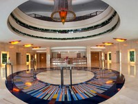 Блог Павла Аксенова. ОАЭ. Дубай. Jumeirah Beach hotel - Pre-function Foyer