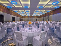 Jumeirah at Etihad Towers - Mezzoon Ballroom - Wedding Setup Closeup