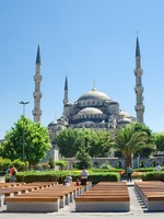 Sultan Ahmed Mosque in Istanbul, Turkey. Фото sailorr - Depositphotos
