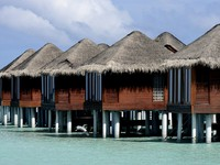 Блог Павла Аксенова. Anantara Dhigu Resort & Spa. Dighu Over water Villas exterior