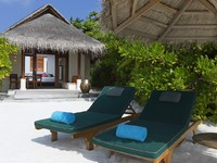 Блог Павла Аксенова. Anantara Dhigu Resort & Spa. Sunset Beach Villa Exterior