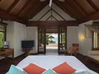 Блог Павла Аксенова. Anantara Dhigu Resort & Spa. Sunset Beach Villa Bedroom