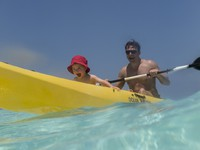 Блог Павла Аксенова. Anantara Dhigu Resort & Spa. Family Kayak