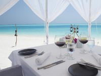 Блог Павла Аксенова. Anantara Dhigu Resort & Spa. Dining by Design at Dhigu sunset beach