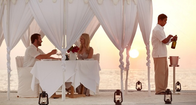 Блог Павла Аксенова. Мальдивы. Anantara Veli Resort & Spa. Couples Dining by design