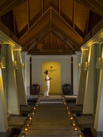 Блог Павла Аксенова. Мальдивы. Anantara Veli Resort & Spa. Sundari Ayurveda Spa pathway to treatment rooms