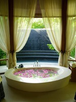 Блог Павла Аксенова. Мальдивы. Anantara Veli Resort & Spa. Veli Spa bathtub