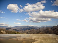 Мексика. The unique and beautiful landscape of hierve el agua in oaxaca state, mexico. Фото Dan Talson - Depositphotos