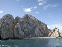 Мексика. The rocks at el arco baja california sur, mexico. Фото dubassy - Depositphotos