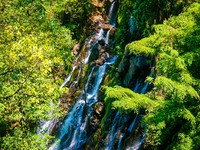 Мексика. Mountain water fall in Mexico. Фото Anton Ivanov - Depositphotos