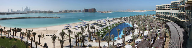 Блог Павла Аксенова. ОАЭ. Дубай. Jumeirah the Palm. Rixos The Palm Dubai. Beach and Pool