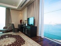 Блог Павла Аксенова. ОАЭ. Дубай. Jumeirah the Palm. Rixos The Palm Dubai. Grand king Suite. Living Room