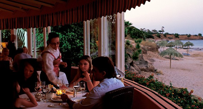 Италия. Сардиния. Forte Village Resort. Restaurant Le Dune