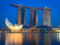 Блог Павла Аксенова. Marina Bay Sands hotel and casino, Singapore. Фото Dmitry Rukhlenko - Depositphotos